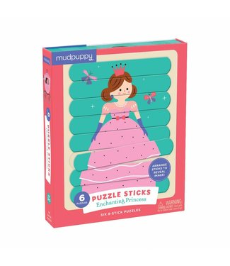 Mudpuppy Mudpuppy | Puzzel Sticks  - Enchanting Princess