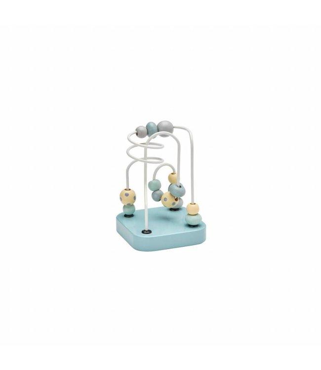 Kid's Concept Mini Spelbaan met Kralen Edvin - groen | Kid's Concept