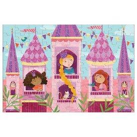 Mudpuppy Mudpuppy | Glitter Puzzel - Prinsessen