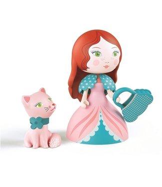 Djeco Djeco | Arty Toys PRINSES Rosa & Cat