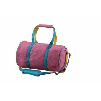 Bakker made with Love Tennisbag Groot Cordura Happy Pink Glitter | Bakker made with love
