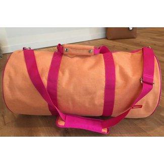 Bakker made with Love Tennisbag Groot Cordura Happy Orange | Bakker made with love