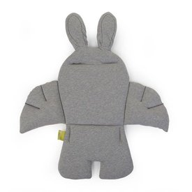Childhome Rabbit Stoelkussen - Jersey Grey | Childhome