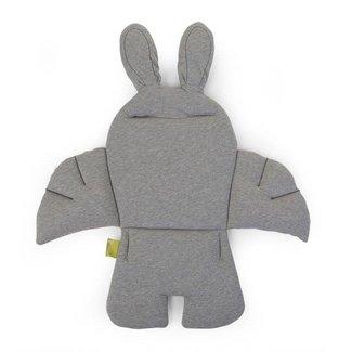 Childhome Rabbit Stoelkussen - Jersey Grey   Childhome
