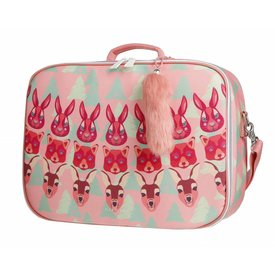 Jeune Premier Jeune Premier | Koffertje Suitcase Mini - Forest Girls