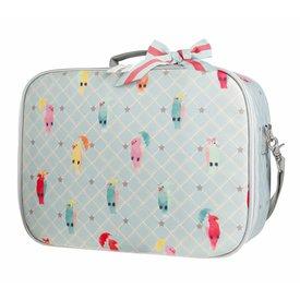Jeune Premier Jeune Premier | Koffertje Suitcase Mini - Posh Parrots