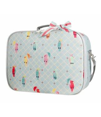 Jeune Premier Jeune Premier   Koffertje Suitcase Mini - Posh Parrots