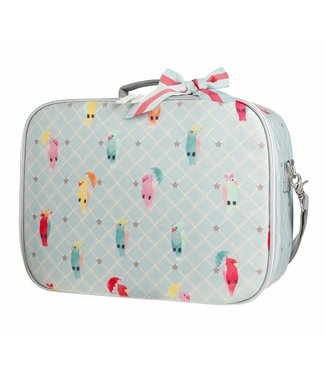 Jeune Premier Koffertje Suitcase Mini - Posh Parrots