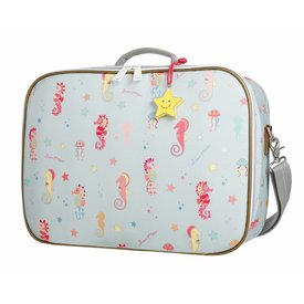 Jeune Premier Jeune Premier | Koffertje Suitcase Mini - Seahorse