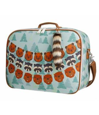 Jeune Premier Jeune Premier   Koffertje Suitcase Mini - Forest Boys