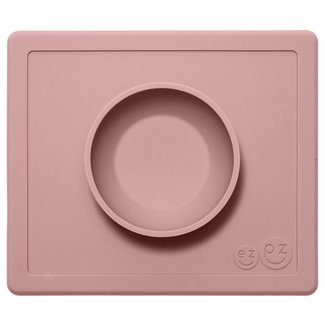 EZPZ Placemat Happy Bowl - Blush Roze | EZPZ