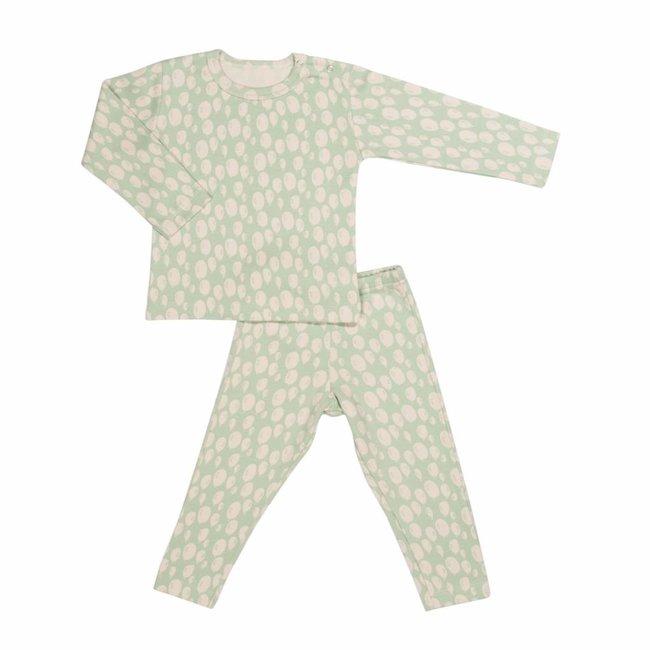 Trixie Baby 2-delige Pyjama Balloon Turquoise   Trixie Baby