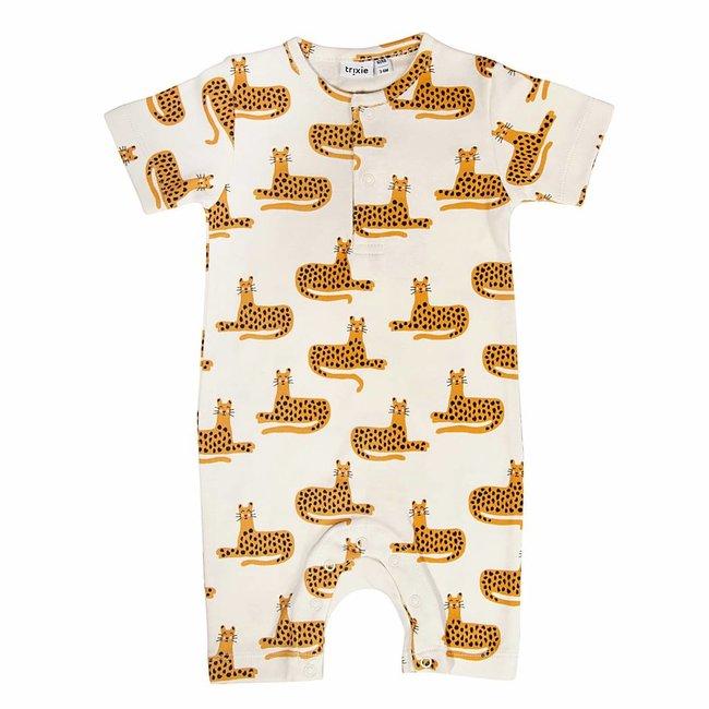 Trixie Baby Kruippakje / Pyjama Cheetah   Trixie Baby