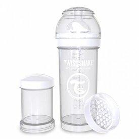 Twistshake Drinkflesje Antikoliek 260  ml - Wit | Twistshake