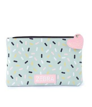 Zebra Trends Toilettasje / Pencilcase Sprinkles    Zebra
