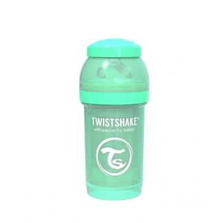 Twistshake Drinkflesje Antikoliek 180 ml - Muntgroen | Twistshake