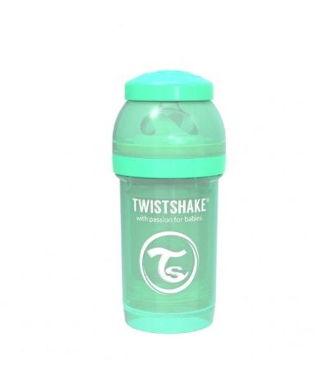Twistshake Drinkflesje Antikoliek 180 ml - Muntgroen | Twistshake