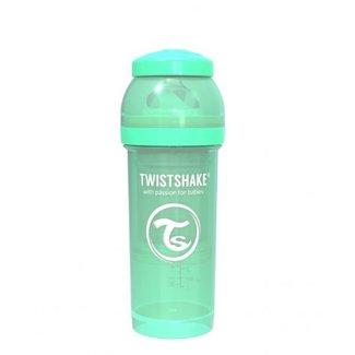 Twistshake Drinkflesje Antikoliek 260  ml - Muntgroen | Twistshake
