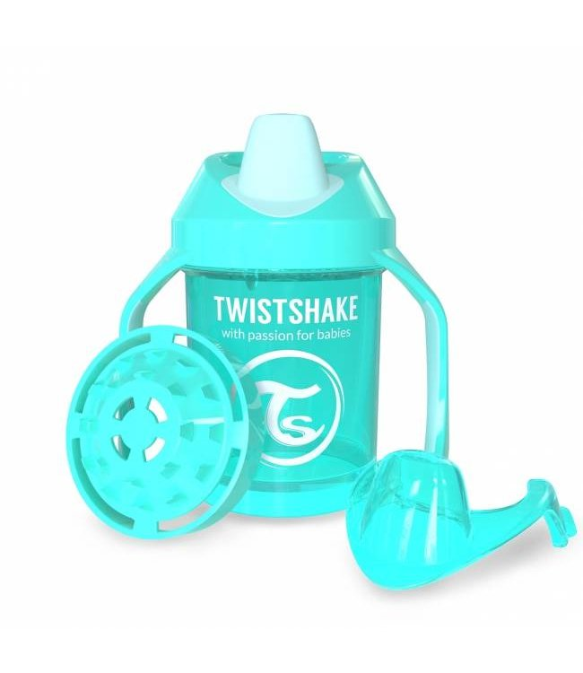 "Twistshake Drinkbeker Fruit Splash ""Pastelblauw"" 
