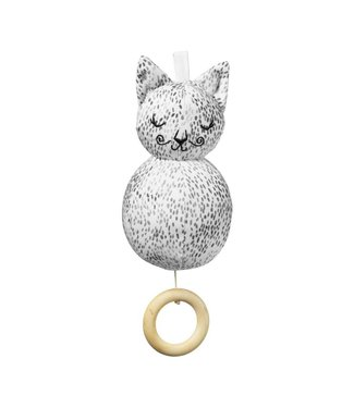 "Elodie Details Musical Toy - Muziekmobiel "" Dots of Fauna Kitty"" | Elodie Details"