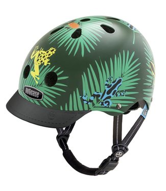 "Nutcase Little Nutty -  Skate & fietshelm ""Dart Frogs"" - XS 