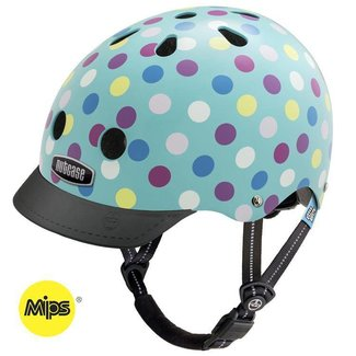 "Nutcase Little Nutty -  Skate & fietshelm ""Cake Pops"" - XS 