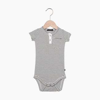 House of Jamie Button Bodysuit - Little Stripes | House of Jamie
