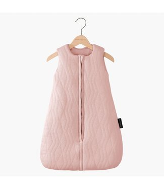 "House of Jamie Trappelzak Baby ""Geometry Jacquard"" - Powder Pink 