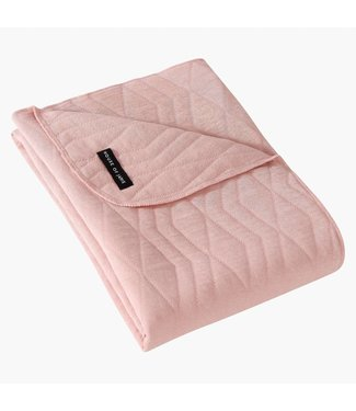"House of Jamie Dekentje ""Geometry Jacquard"" Powder Pink 