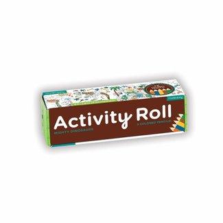 Mudpuppy Activity Roll - Mighty Dinosaurs | Mudpuppy