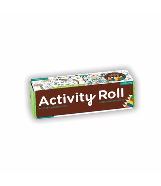 Mudpuppy Activity Roll - Mighty Dinosaurs | Mudpuppy