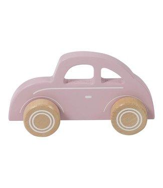 "Little Dutch Houten Auto Beetle  ""Pink"" | Little Dutch"