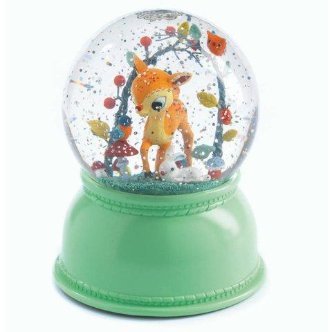 Nachtlampje en sneeuwbol hertje | Djeco