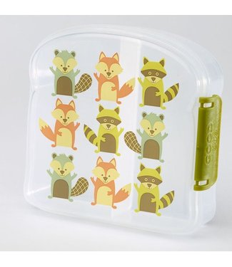 "SugarBooger Lunchbox ""What Did The Fox Eat"" 