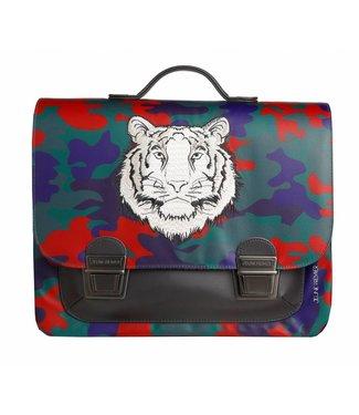 Jeune Premier Schooltas / Boekentas MIDI Bengal Tiger
