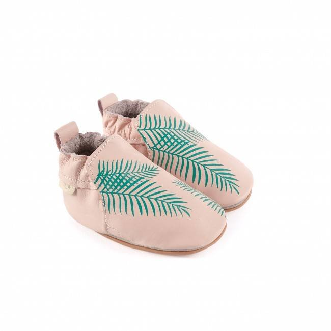 "Boumy Babyschoentjes Rio  ""Exotic Leaf"" 