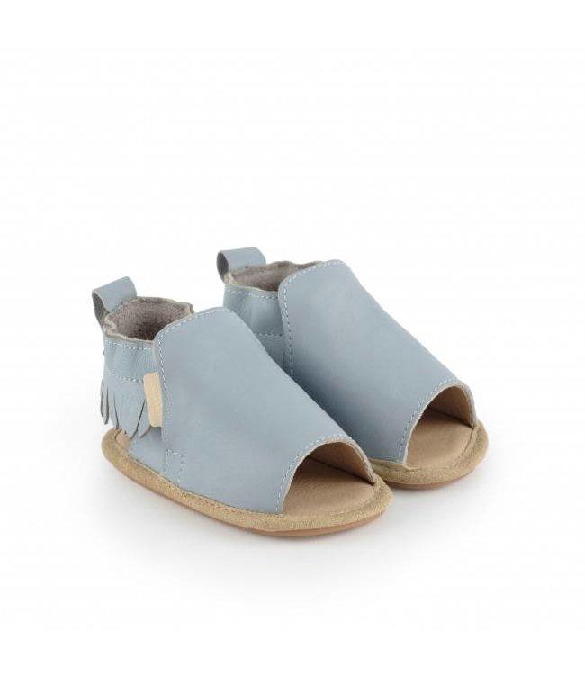 "Boumy Babyschoentjes Noa  ""Twilight Leather"" | Boumy"