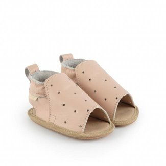 "Boumy Babyschoentjes Sam  ""Pastel Pink Leather"" 