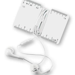In-Ear-Kopfhörer mit Karte