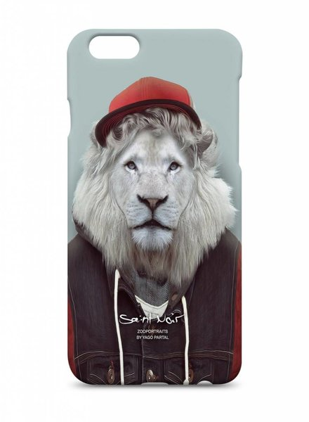 iPhone Case Accessoire - White Lion - Zoo Portraits