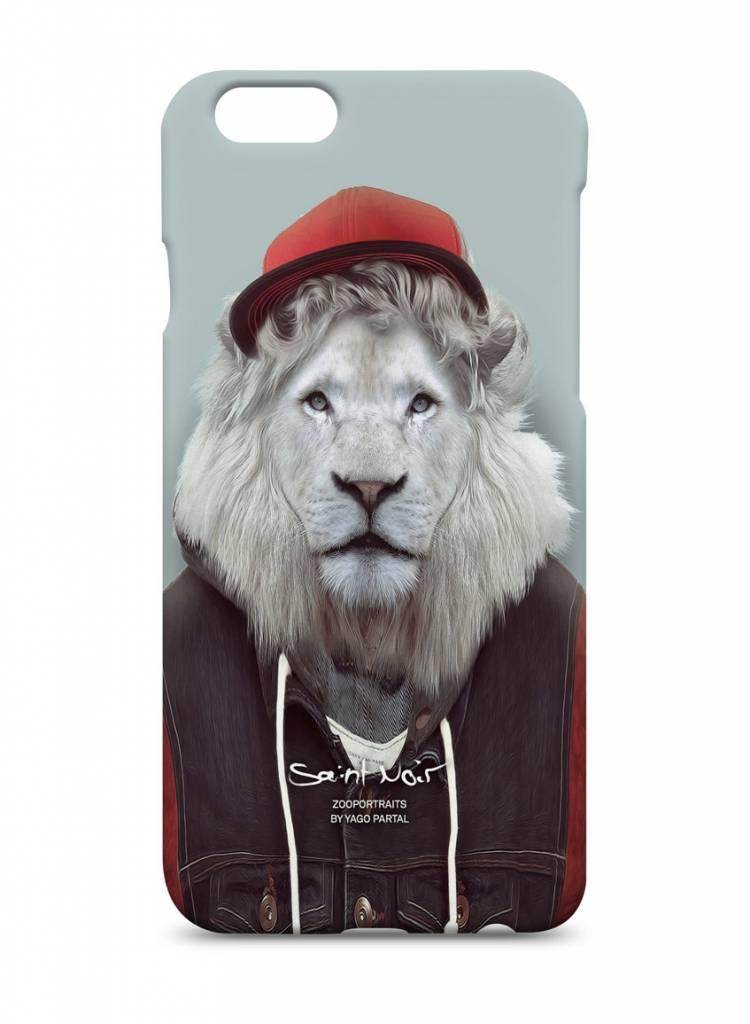 iPhone Case Accessoire - White Lion - Zoo Portraits