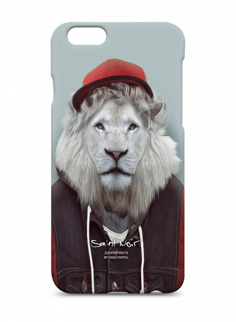 iPhone Case Accessory - White Lion - Zoo Portraits