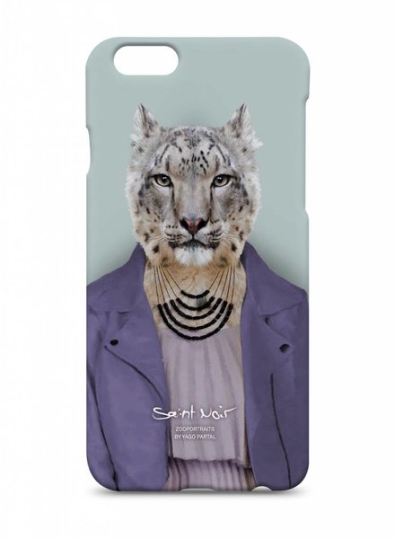 iPhone Case Accessory - Snow Leopard - Zoo Portraits