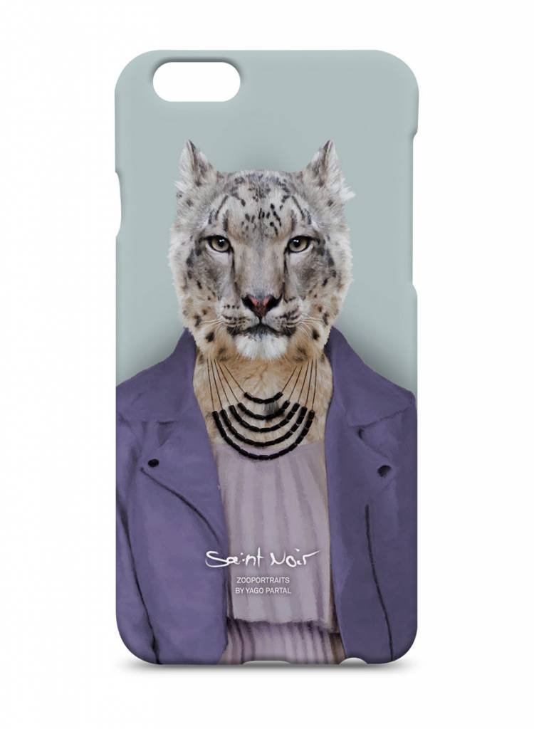 iPhone Case Accessoire - Snow Leopard - Zoo Portraits