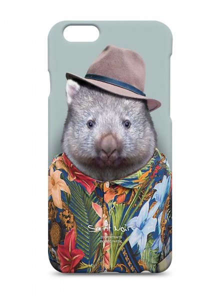 iPhone Case Accessoire - Wombat - Zoo Portraits