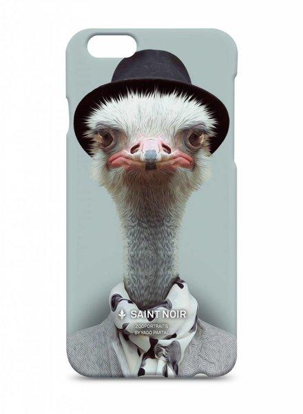 iPhone Case Accessoire - Ostrich - Zoo Portraits