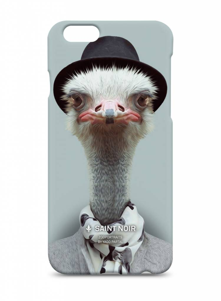 iPhone Case Accessoire - Ostrich - Zoo Portraits