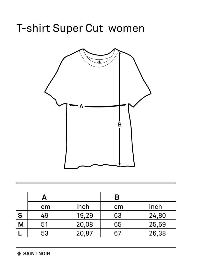 T-Shirt Super Cut Damen - Wild Hearts