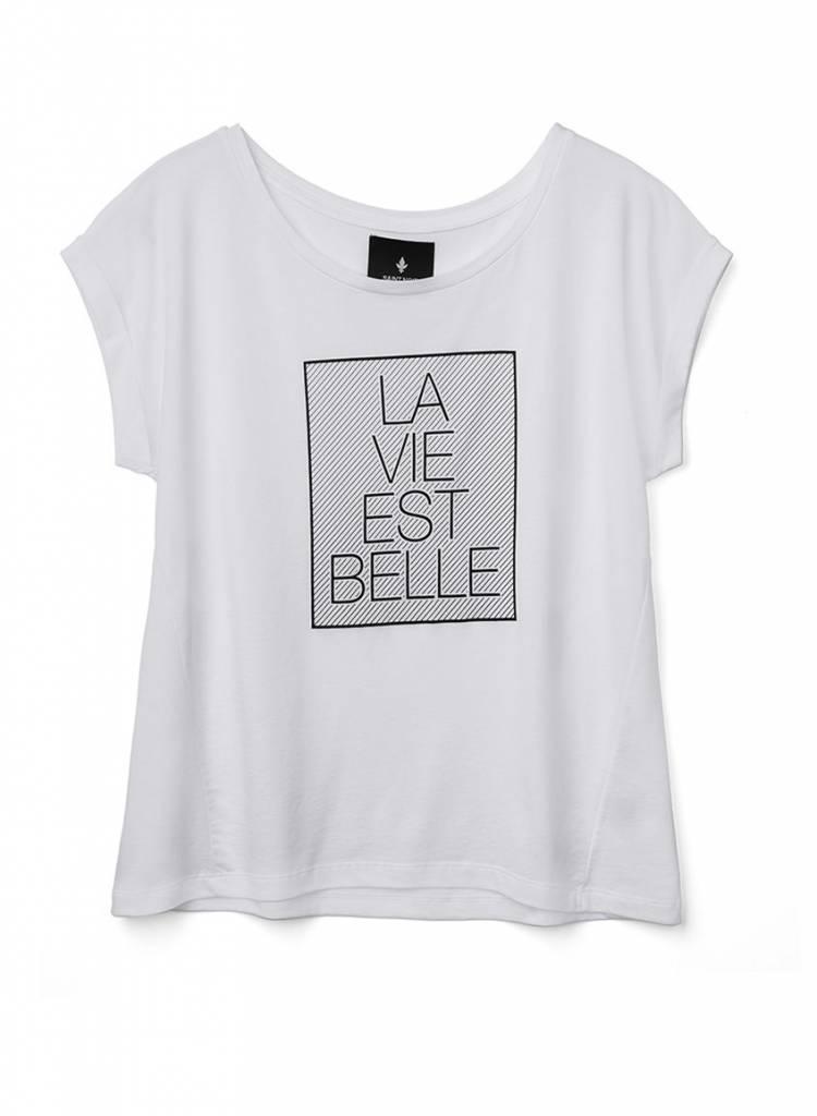 T-Shirt Round Neck Damen - La Vie