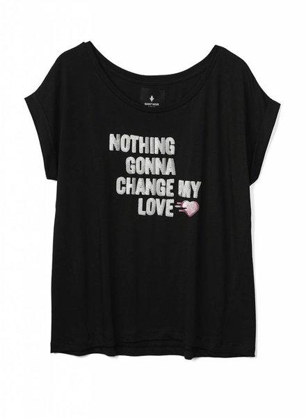 T-Shirt Round Neck Damen - Nothing Gonna